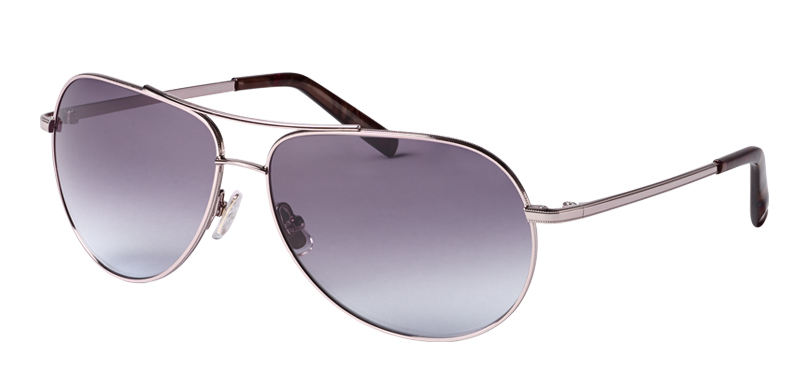 Piper::Morgenthal Frederics Air Corps Collection.<br />Classic aviator in titanium, handcrafted in Japan.<br />Rose gold, with gray gradient lenses.