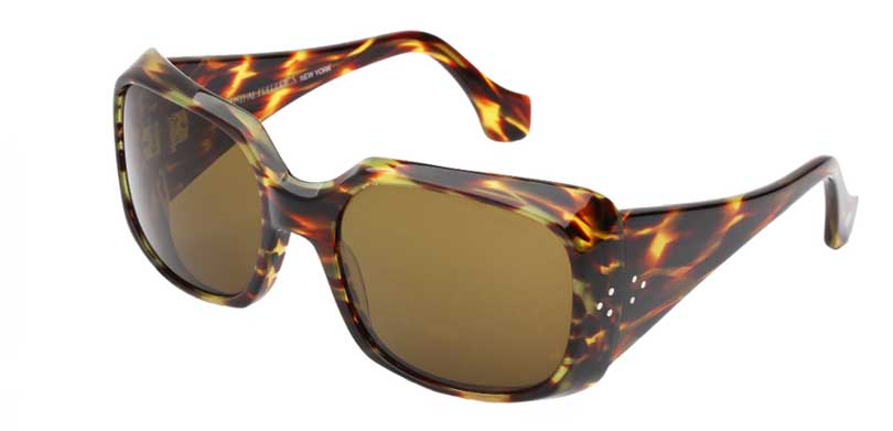 EPIC::Morgenthal Frederics Acetate Classic Collection.<br />Handcrafted in France, thick tapered temple, tortoise streak.