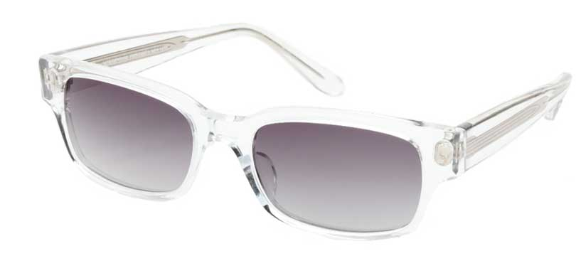 RALPHIE::Morgenthal Frederics Acetate Classic Collection.<br />Handcrafted in Japan, crystal frame with visible core.